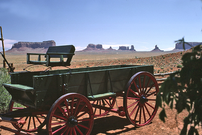Monument Valley, UT from Goulding's Trading Post