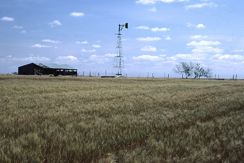 OK, the Panhandle. TX is 50' Behind the Camera, as Close as We Got.
