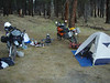Third nights camp, Fremont Nat. Forest.