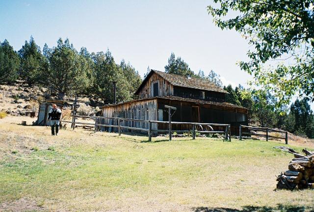 Old ranch on Steens loop.