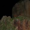 Stump at night