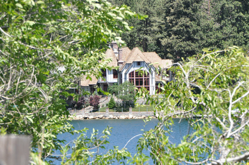 This is the typical lakefront at Arrowhead.