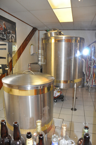 The brew house is about 12 feet by 20 feet.