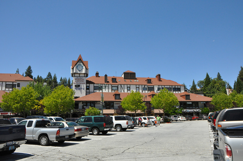 Lake Arrowhead Village shopping center.  But it's the ONLY shopping center at the lake.