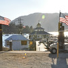 I'm now camped at Holloway's on Big Bear Lake.