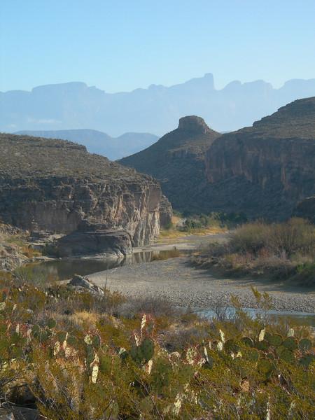 The Rio Grande in Hot Springs Canyon.