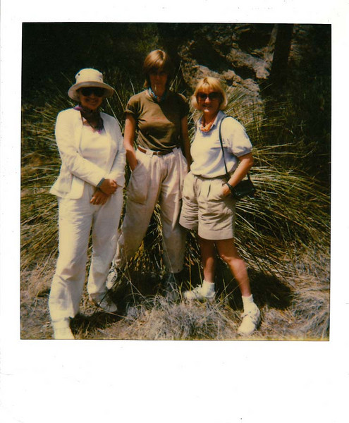THE GIRLS<br /> <br /> Nina, Cheryl, and Susan in Boulder Meadow. These weren't the only girls, of course.