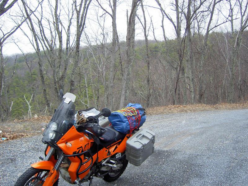 Along the Blue Ridge pkwy