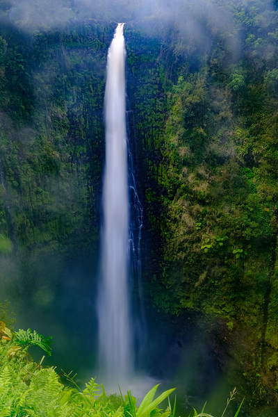 The famous Akaka Falls