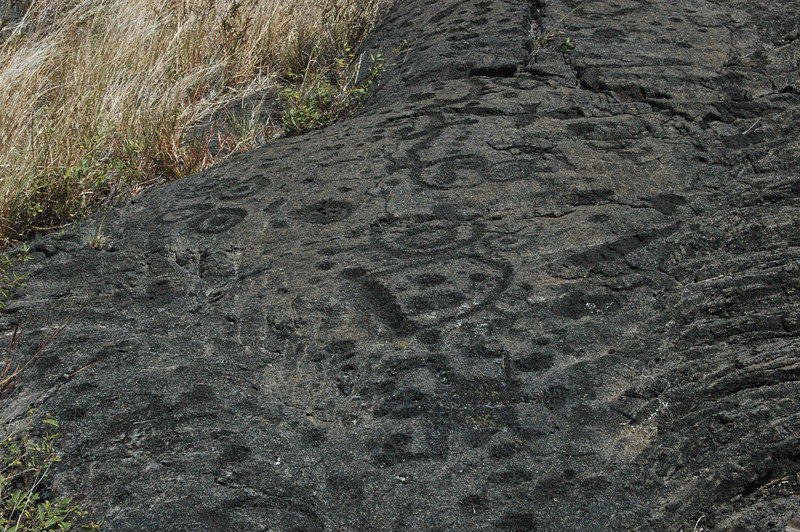 This is part of the largest set of Petroglyphs in the United States.