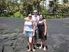 Suzi, Jason and Jessica at Black Sand Beach