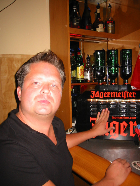Jagermeister - No Matt, I don't think we should try and drink it dry.