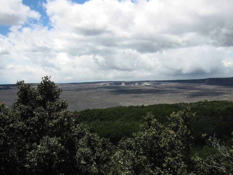 From the rim of the caldera