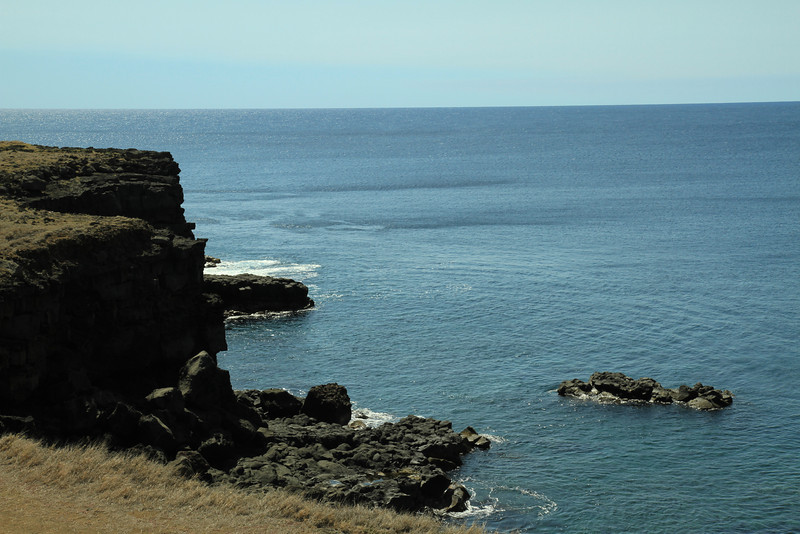 Lava cliffs at South Point