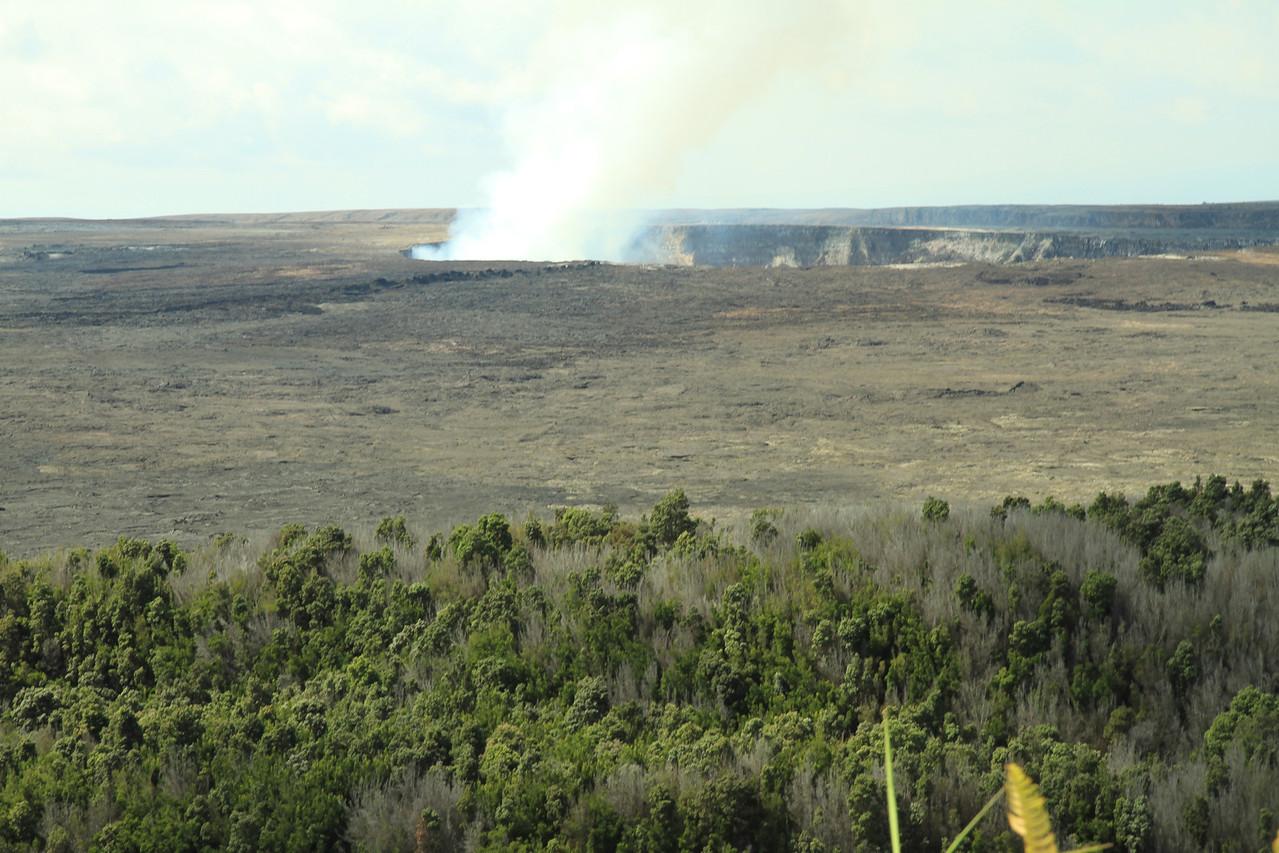 Halemaumau Crater at Kilauea