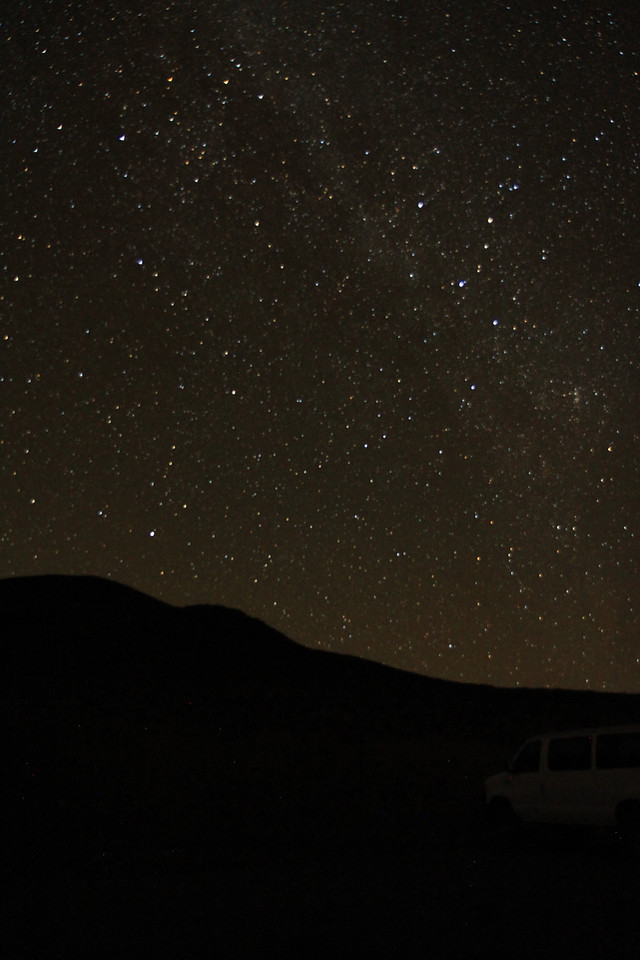 Mauna Kea and stars