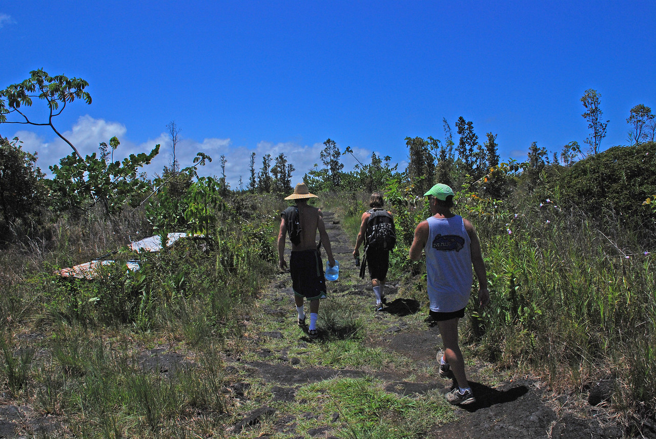 The Trek to Shipman's; Big Island
