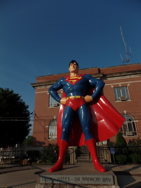 Big Superman. Interesting town.