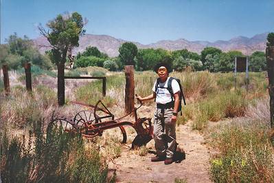7/27/97 Barn Trail. Big Morongo Canyon Preserve Little San Bernardino Mtns, Morongo Valley, San Bernardino County, CA.