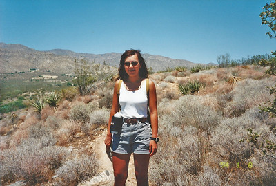 7/27/97 Yucca Ridge Trail. Big Morongo Canyon Preserve Little San Bernardino Mtns, Morongo Valley, San Bernardino County, CA.