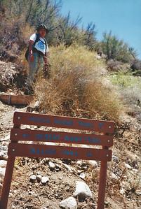 7/27/97 Yucca Ridge Trail. Big Morongo Canyon Preserve Little San Bernardino Mtns, Morongo Valley, San Bernardino County, CA.