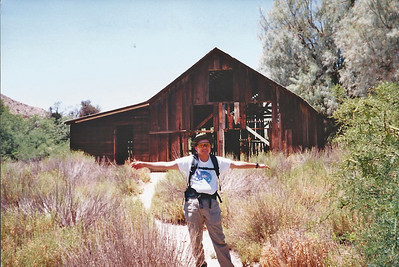 7/27/97 Historic Barn. Big Morongo Canyon Preserve Little San Bernardino Mtns, Morongo Valley, San Bernardino County, CA.