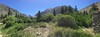 Panorama shot of the campground area.