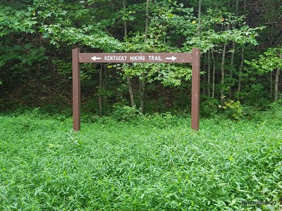 Kentucky Hiking Trail Sign