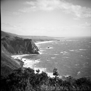The view from Ragged Point, 1960