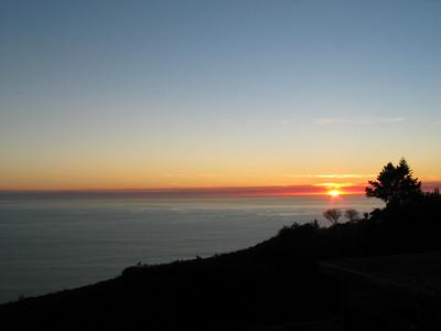 Post Ranch Sunset