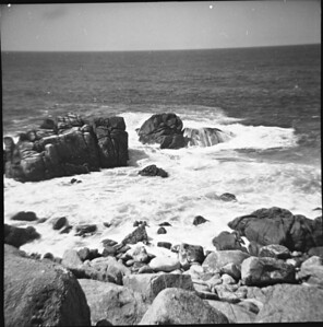 The coast at Pacific Valley, 1960