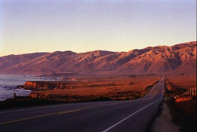Highway One, north of San Simeon, fall 1998