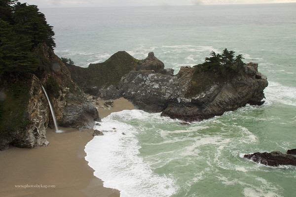 McWay Falls, Julia Pfeiffer Burns State Beach, Big Sur