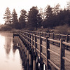 """<span id=""""title"""">Boardwalk</span> Another shot of the Stanfield Marsh boardwalk on a 30 degree morning."""