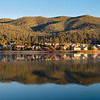 """<span id=""""title"""">Lakeside Homes</span> Taken just after sunrise."""