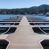 "<span id=""title"">Arrowhead Dock</span> On our way back home, we stopped by Lake Arrowhead, just because. There was a lot more emphasis on shopping there, so I'm glad we didn't stick around too long.  I imagine this dock is much more utilized in the summer. On this day, there was an empty canoe and these 3 guys in the distance - all other spots were empty.  Also, there were tons of ducks."