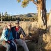 """<span id=""""title"""">Sunset Portrait</span> The wife and I sitting on a very picturesque log."""