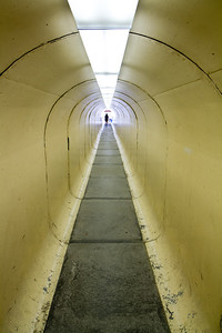 Tunnel into Berkeley Pit