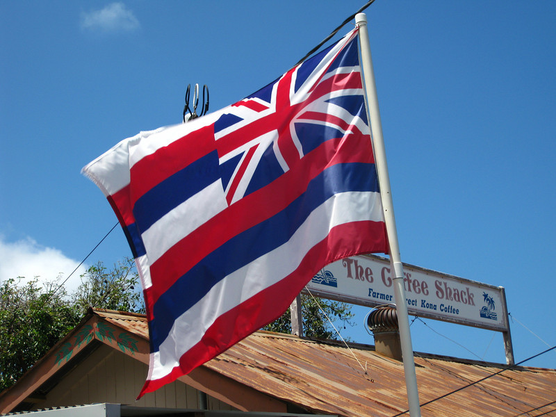 Hawaiian flag.