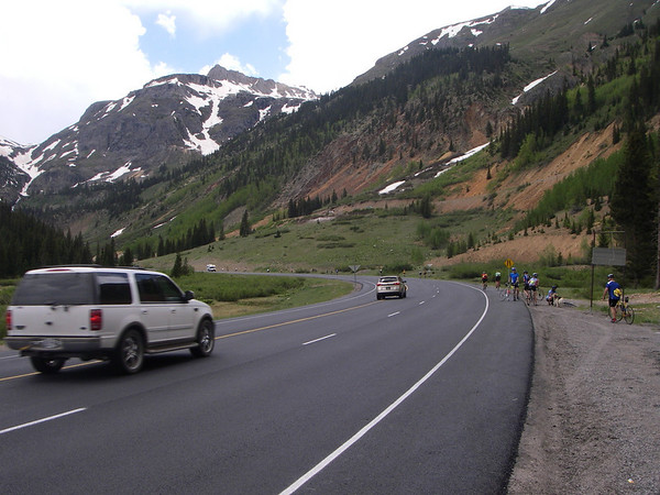 coming up to red mountain pass
