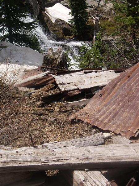 old miner's shack