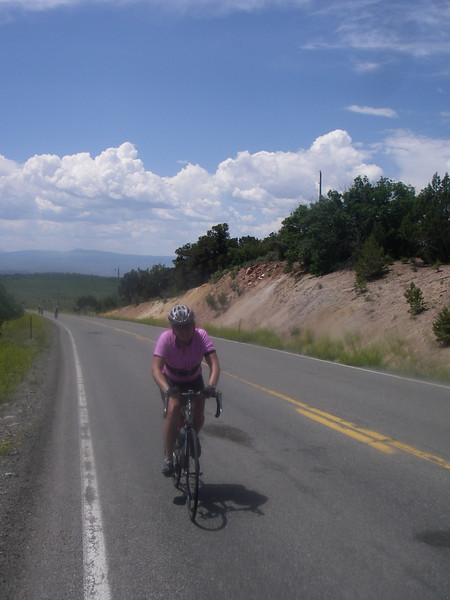 Allez! Rolling up the 4100 (and unexpected) climb to the rim of the Black Canyon of the Gunnison outside Montrose