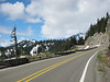 The highway up to Chinook Pass.