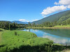 On Tuesday we rode north along the Slocan River.