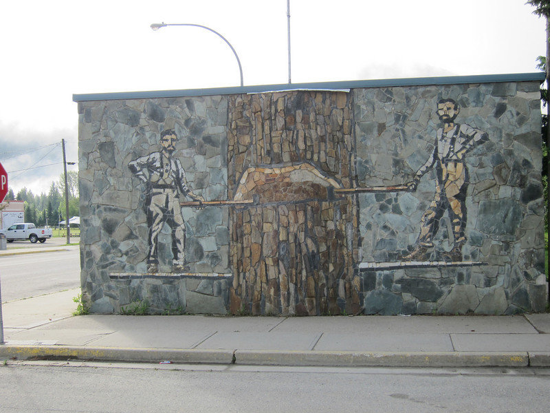 Another stone mural.