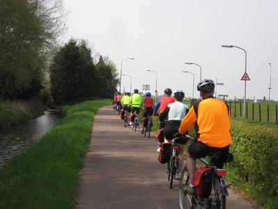 Amsterdam to Belgium Bike and Barge 2010