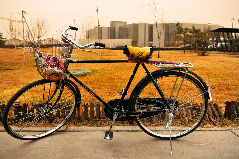 Black Bicycle, Beijing, March.