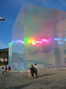 Guggenheim temporary installation
