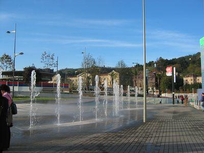 Guggenheim fountains