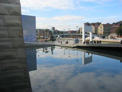 Guggenheim along the river